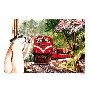 zoo插画手绘商品