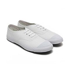 BATA TENNIS VINTAGE SHOES IN ALL WHITE