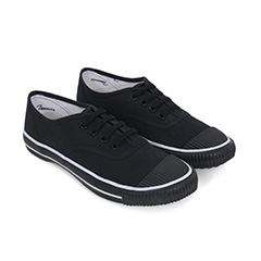 BATA TENNIS VINTAGE SHOES IN BLACK