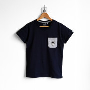 ‧Alien BoyFriend Pocket T-Shirt / 15-NAVY