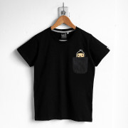 ‧BoyFriend Pocket T-Shirt / 03-BLACK