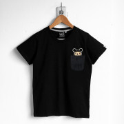 ‧GirlFriend Pocket T-Shirt / 03-BLACK