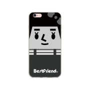 ‧Grayscale Miss Peng iPhone Case / 透明硬式保護殼