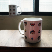 ‧BestFriend Graphic Mug / 滿版白