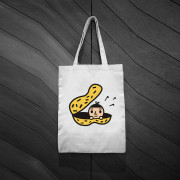 ‧BestFriend Tote Bag / BoyFriend In Peanut