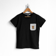 ‧Nice Bear Pocket T-Shirt / 03-BLACK