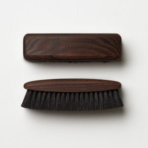 TGC036 Dark Shoe Brush<br>《風行》深色系鞋靴馬毛刷