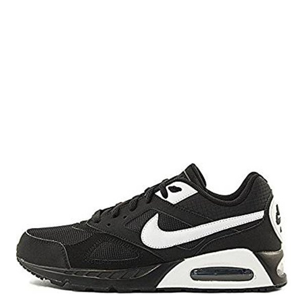 Air Max Ivo Mens Running Trainers 580518-011 籃球鞋 黑