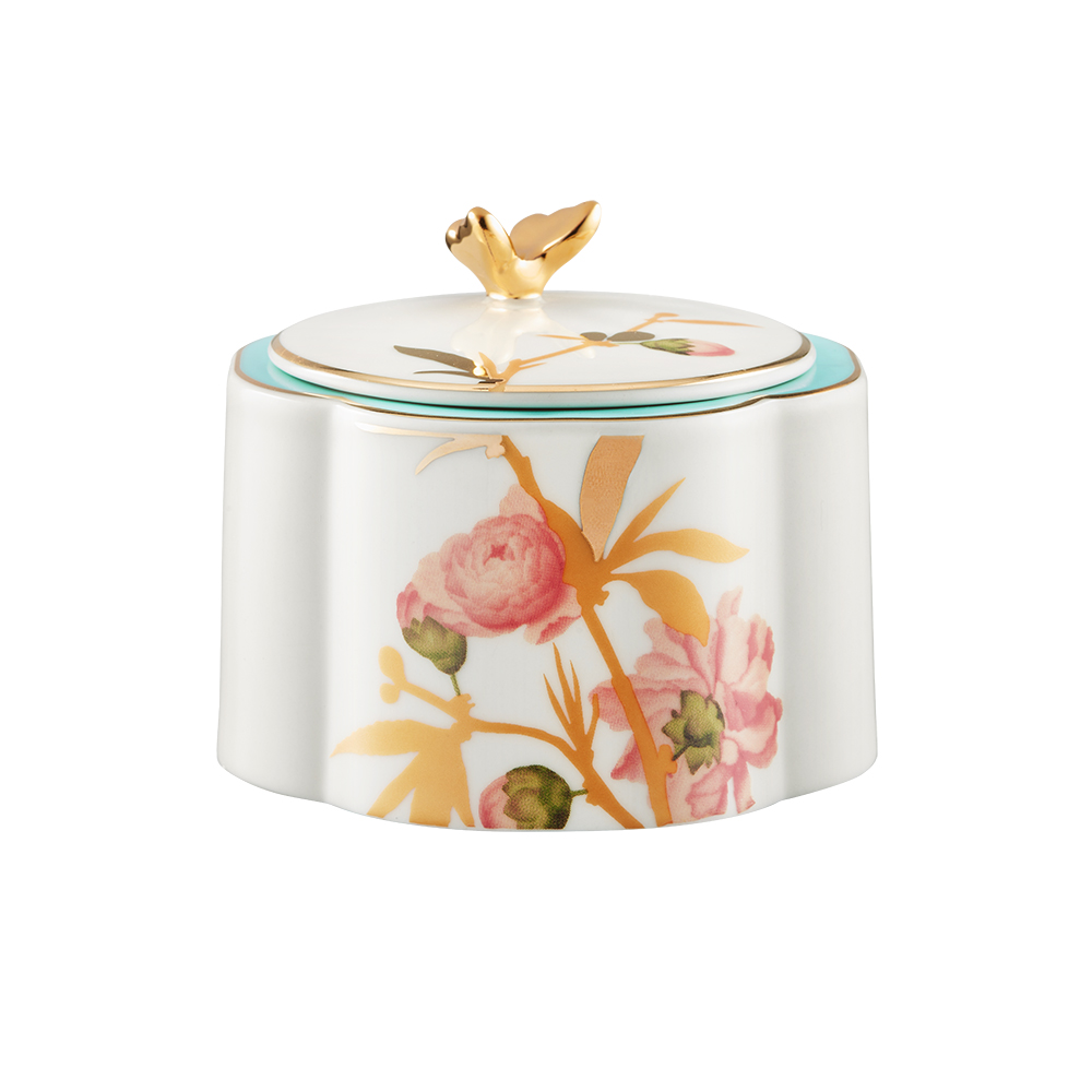 Peach Blossom Enchantment /Sugar bowl