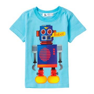休閒系 造型機器人舒棉T