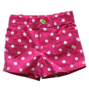 Carter's 桃紅圓點點休閒短褲