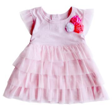 Carter's 俏麗公主粉紅小洋裝
