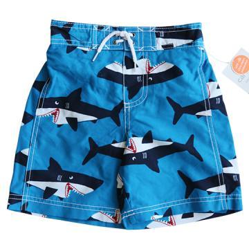 Carter's 張嘴鯊人鯨海灘褲