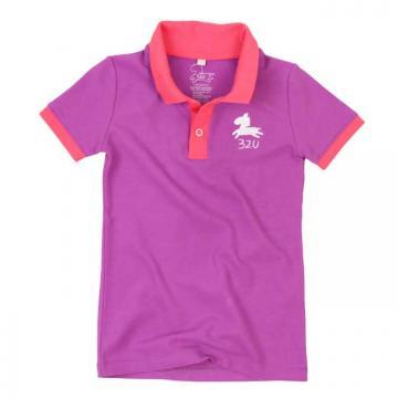 32U經典POLO衫(紫)