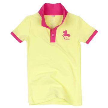 32U經典POLO衫(黃)