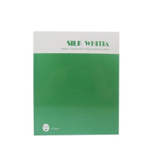 SILK WHITIA骨膠原水分面膜 5pc