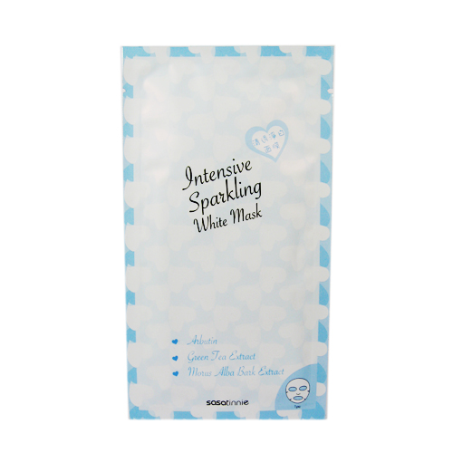韓國製Sasa Brand 清透水潤面膜 20G/1片 (淨白/保濕)任選
