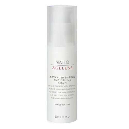 NATIO 無齡玫瑰果極緻提升緊膚精華液 30ml