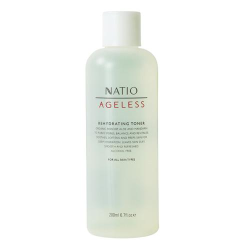 NATIO 無齡玫瑰果柔膚化妝水 200ml