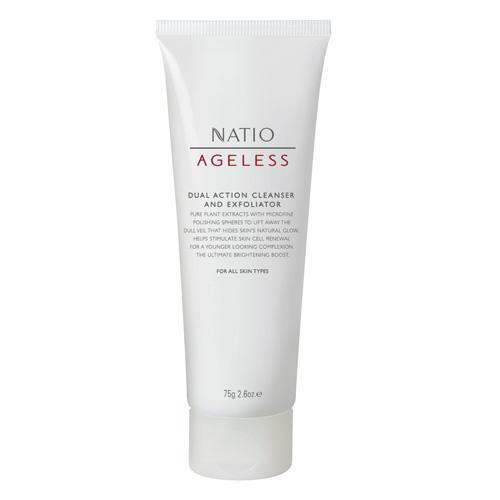 NATIO 無齡玫瑰果雙效去角質洗面乳 75g