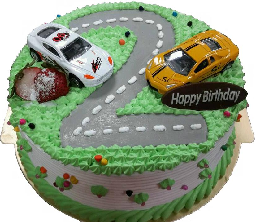 【免运费 客制手绘】汽车蛋糕订购区-回力车款(小)两台!欢迎来电洽询