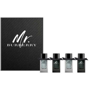 Burberry Mr. Burberry 小香 禮盒 (淡香精 5ML*2+淡香水 5ML*2)