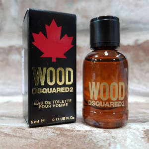 DSQUARED2 WOOD 天性 男性淡香水 5ML 小香