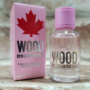 DSQUARED2 WOOD 天性 女性淡香水 5ML 小香