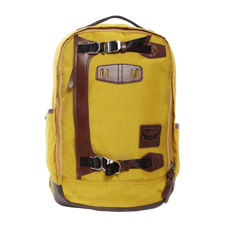 黑金系列 質感高強度布料後背包