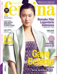 印尼Femina雜誌報導