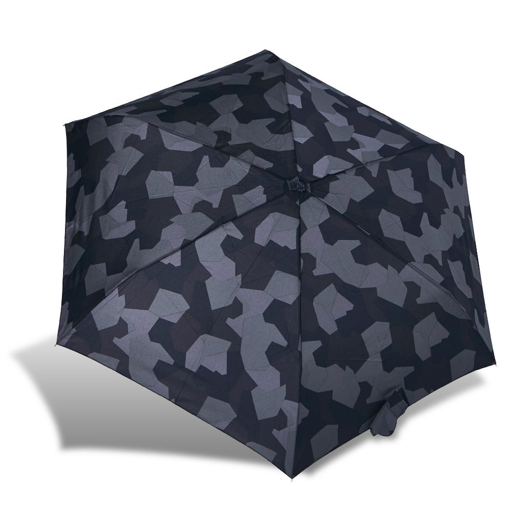 rainstory迷彩拼图抗uv轻细口红伞