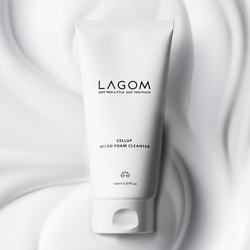 LAGOM 保濕泡沫洗面乳 (CELLUP MICRO FOAM CLEANSER) 150ml