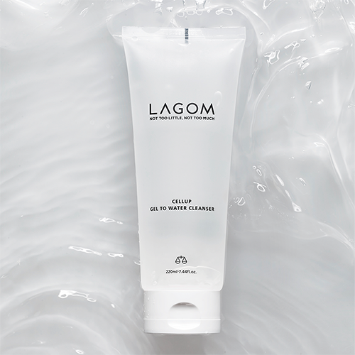 LAGOM 溫和潔面凝膠 (CELLUP GEL TO WATER CLEANSER) 220ml