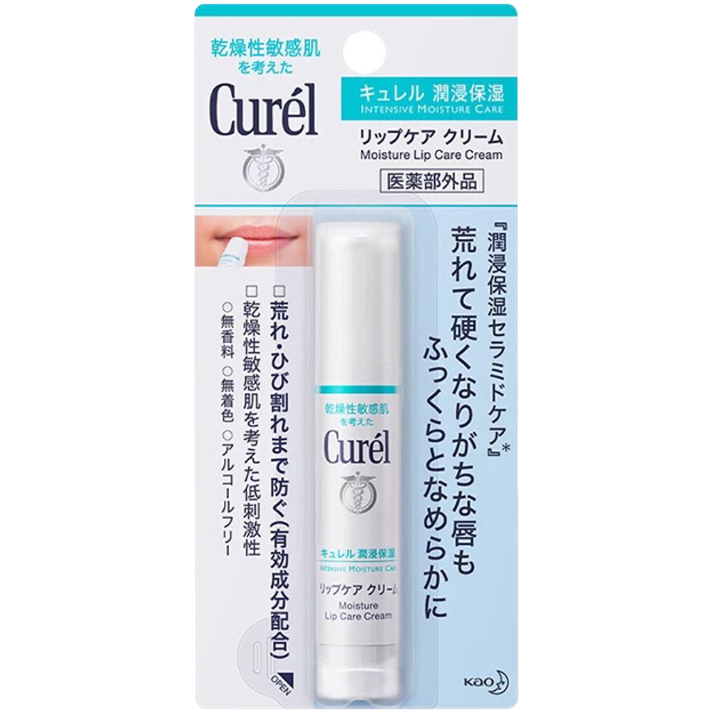 CUREL 潤浸保濕護唇膏 (Moisture Lip Care Cream) 無色型 4.2g