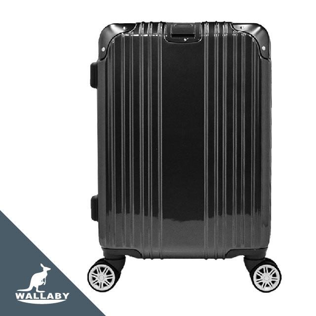 夢幻之星 ABS+PC 拉鍊 行李箱 黑色 HTX-2107-BK