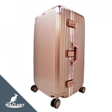 胖胖箱 ABS+PC鋁框箱 29吋玫瑰金 HTX1701-29RG