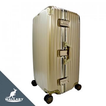 胖胖箱 ABS+PC鋁框箱 29吋香檳色 HTX1701-29V