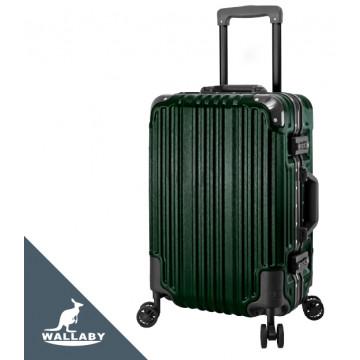 【WALLABY 袋鼠】ABS+PC鋁框行李箱 LG052-20