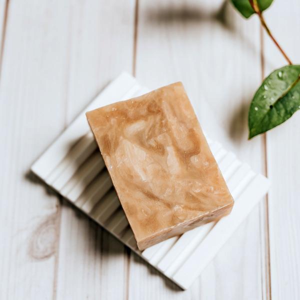 溫潤天然羊脂手工皂