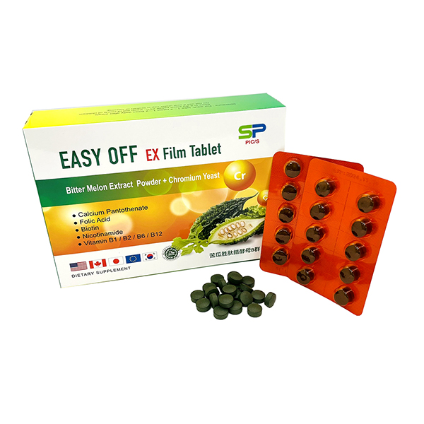 醣神膜衣錠  60T/盒(苦瓜胜肽)