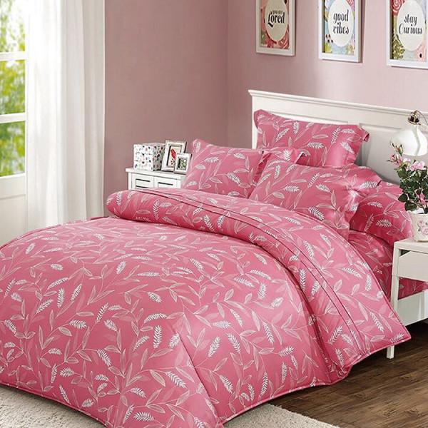天絲  粉紅微醺  床包四件組