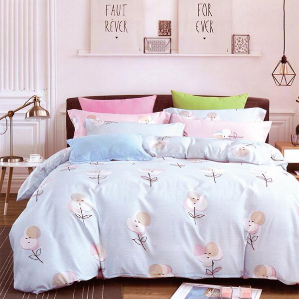 半天絲 快樂時光床包四件組