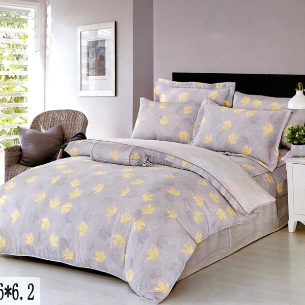 天絲  楓葉紛飛  床包四件組