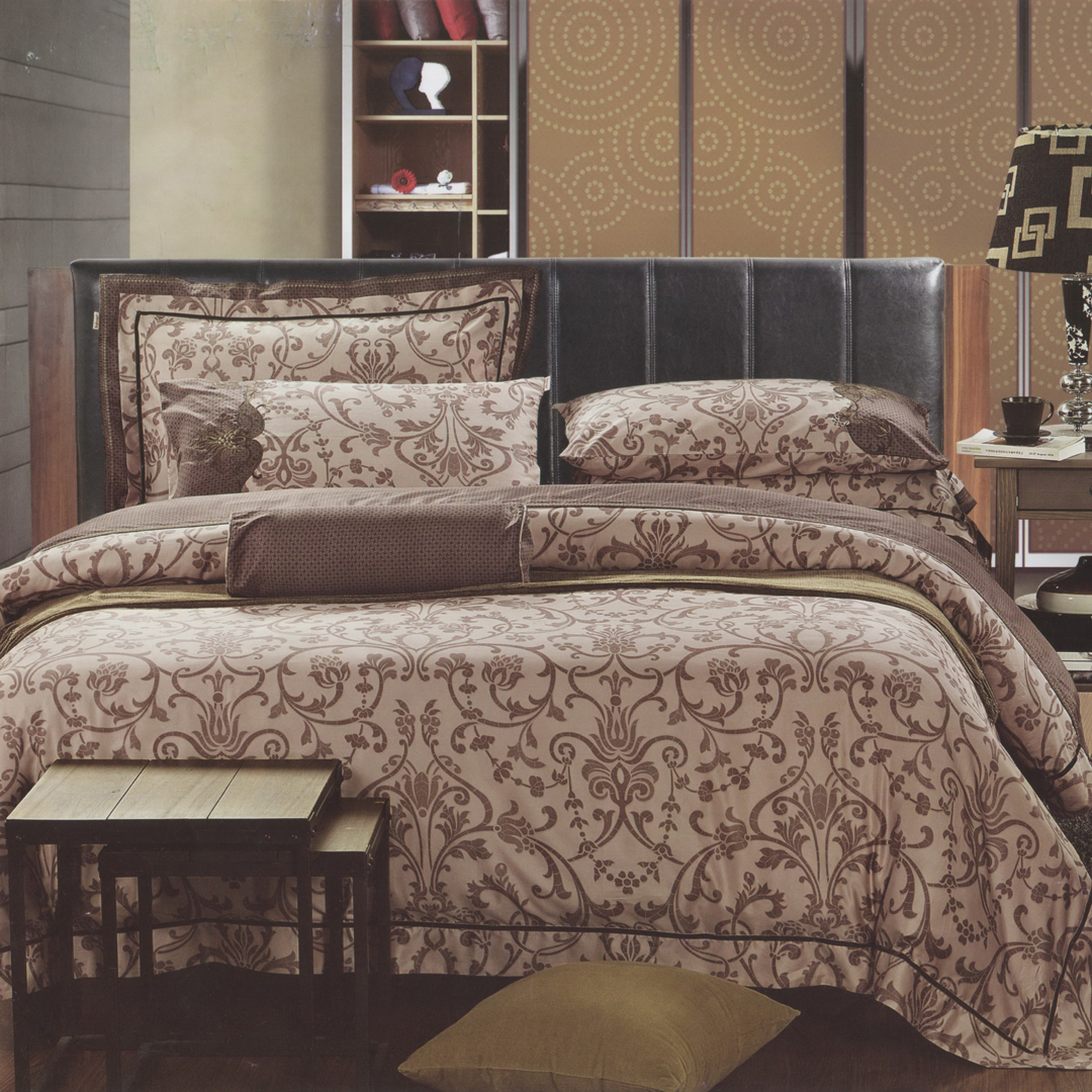 80支匹瑪棉 歐式典藏 床罩七件組