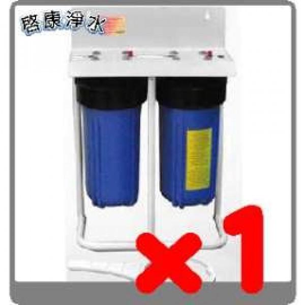 啟康水精靈全戶式淨水器*1組 - 贈)清洗水管單層單戶1次