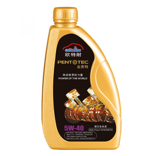 OTTOLINE PENTOTEC Premium 5W40 SN/CF Fully Synthetic Car Engine oil