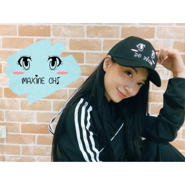 祈錦鈅大眼限定帽