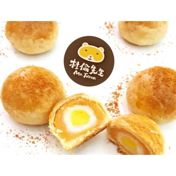 蛋蛋餅-卡士達乳酪麻糬6入