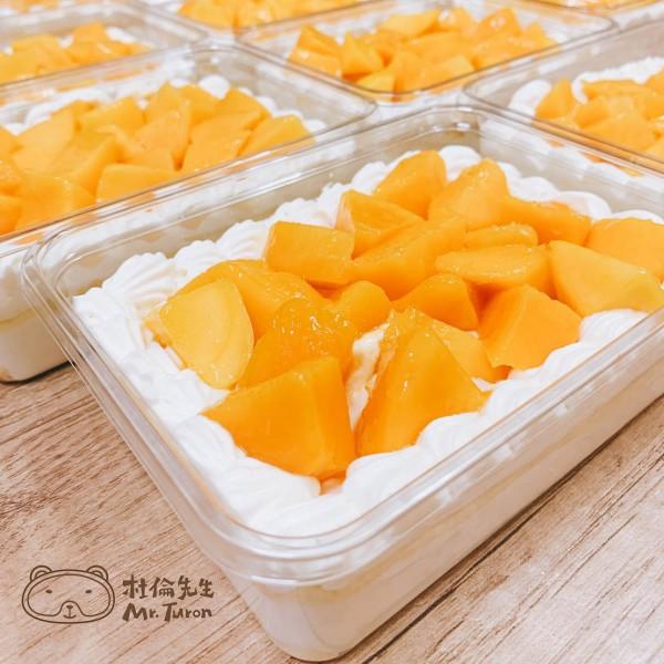 夏日限定~芒果蛋糕盒