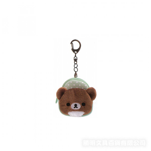 小小熊鑰匙圈零錢包1904